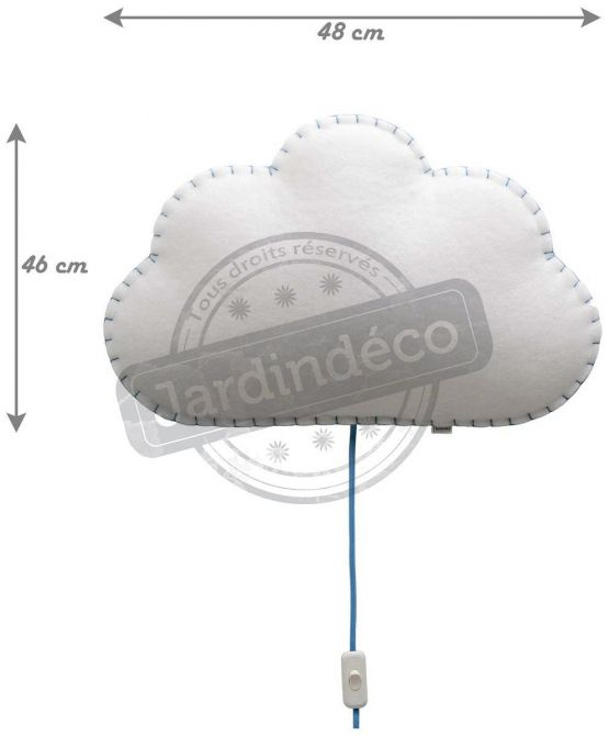 Applique Soft Light nuage - 7