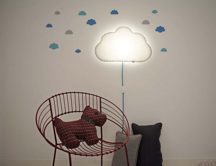 Applique Soft Light nuage - BUOKIDS