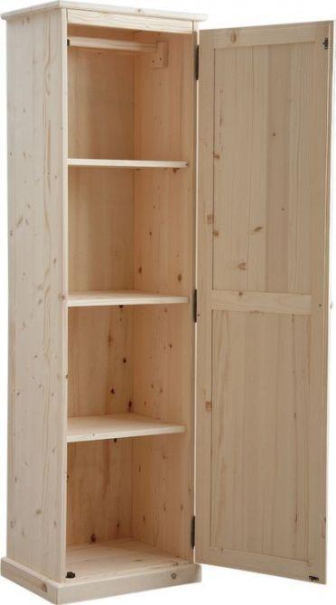 armoire en bois brut. Black Bedroom Furniture Sets. Home Design Ideas