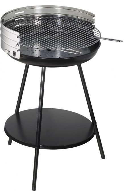 Barbecue à charbon rond en inox New clasic