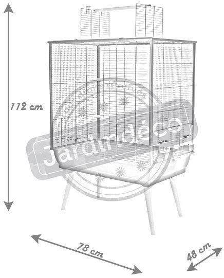 cage neo jill pour oiseaux domestiques sur pieds. Black Bedroom Furniture Sets. Home Design Ideas