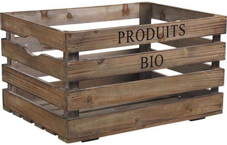 caisse en bois produits bio caisses en bois sur. Black Bedroom Furniture Sets. Home Design Ideas