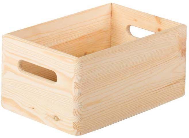 caisse en bois de rangement taille 1. Black Bedroom Furniture Sets. Home Design Ideas