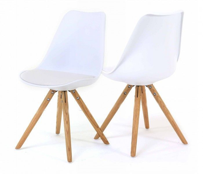 Chaise design Cross (Lot de 2) - 6
