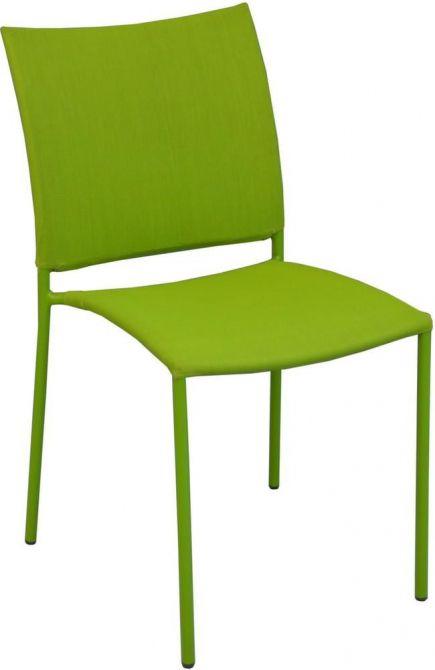chaise de jardin design bonbon lot de 6 mousse. Black Bedroom Furniture Sets. Home Design Ideas