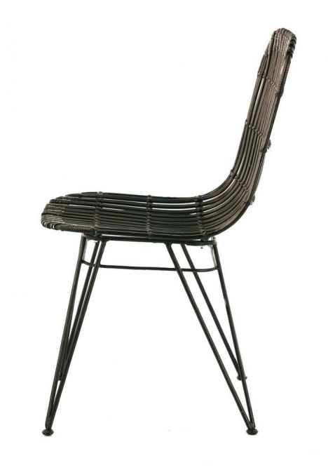chaise en kubu melody lot de 2. Black Bedroom Furniture Sets. Home Design Ideas