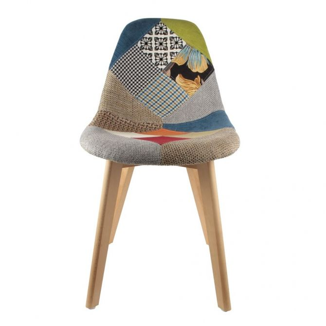 Chaise scandinanve Patchwork