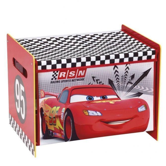Coffre jouets premium disney cars - Grand coffre a jouet cars ...