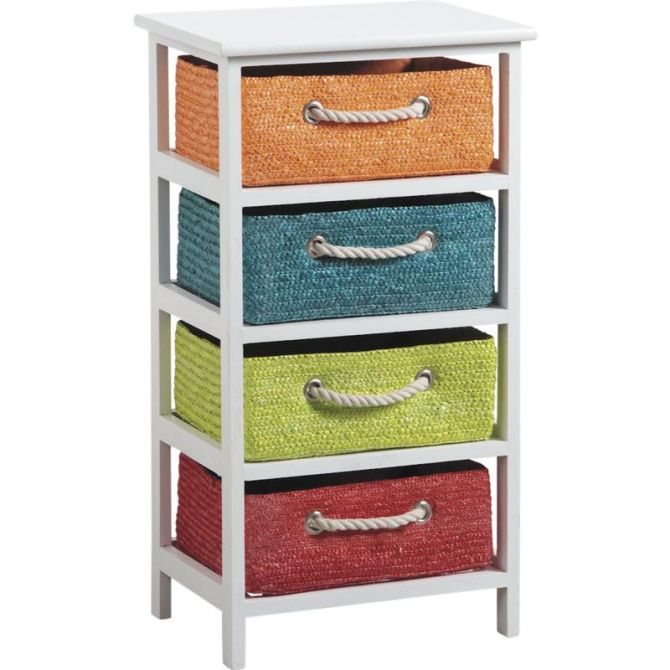 Commode 4 tiroirs Couleurs