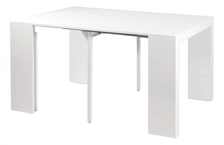 Console table salle manger oriane blanc - Console salle a manger ...