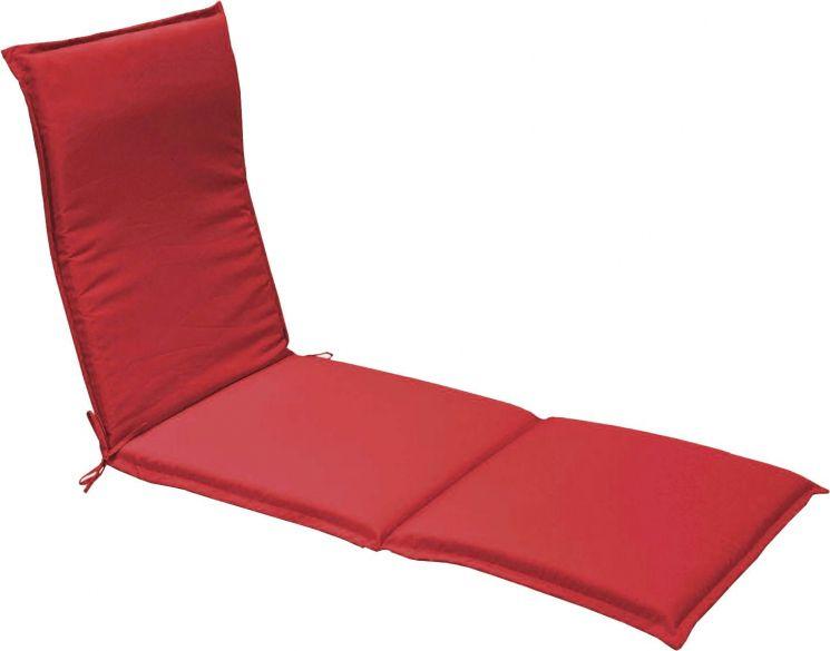 coussin bain de soleil garden lot de 2 rouge. Black Bedroom Furniture Sets. Home Design Ideas