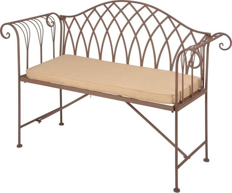 coussin pour banc de jardin 98 5 cm. Black Bedroom Furniture Sets. Home Design Ideas