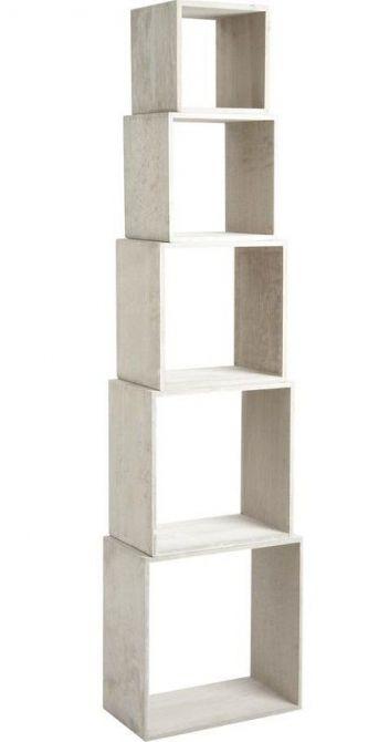 etagere cube bois gris. Black Bedroom Furniture Sets. Home Design Ideas