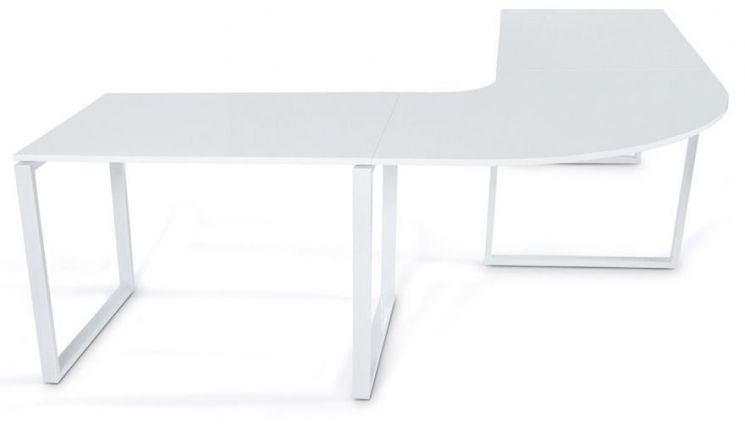 Grand bureau design kuvo for Grand bureau blanc