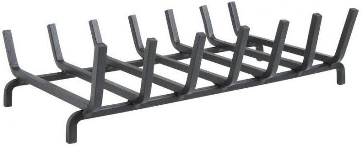 grille porte b ches en fer forg. Black Bedroom Furniture Sets. Home Design Ideas