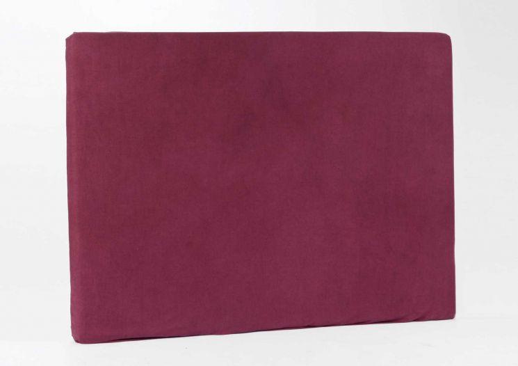 housse en lin et coton pour t te de lit prune. Black Bedroom Furniture Sets. Home Design Ideas