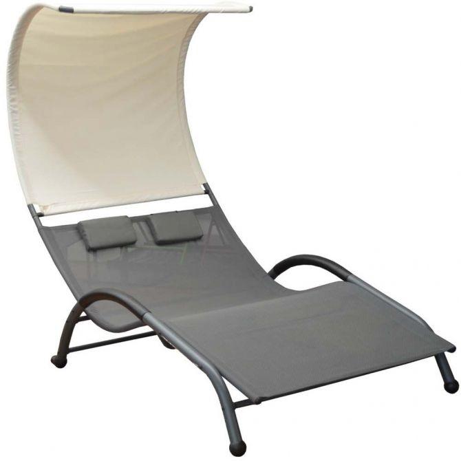 lit de soleil double en acier galaxy. Black Bedroom Furniture Sets. Home Design Ideas