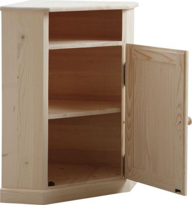 Petit meuble d 39 angle en bois brut petits meubles d 39 angle for Meuble bois brut