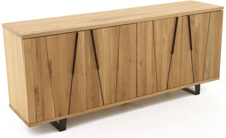 meuble bas 4 portes eclypse. Black Bedroom Furniture Sets. Home Design Ideas