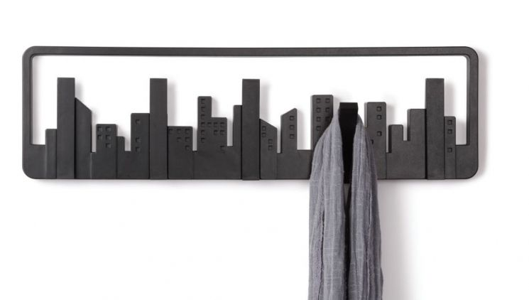 Porte manteau mural design Skyline - UMBRA