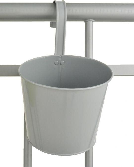 Pot de fleur balcon suspendre gris - Pot fleur balcon ...