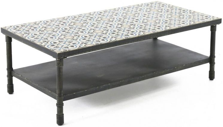 Table basse rectangulaire Trendy 120 cm