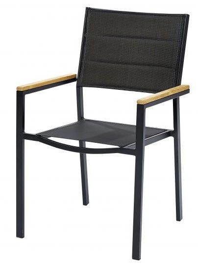 Table et chaises de jardin moderne bali 6 fauteuils - Table et chaise moderne ...