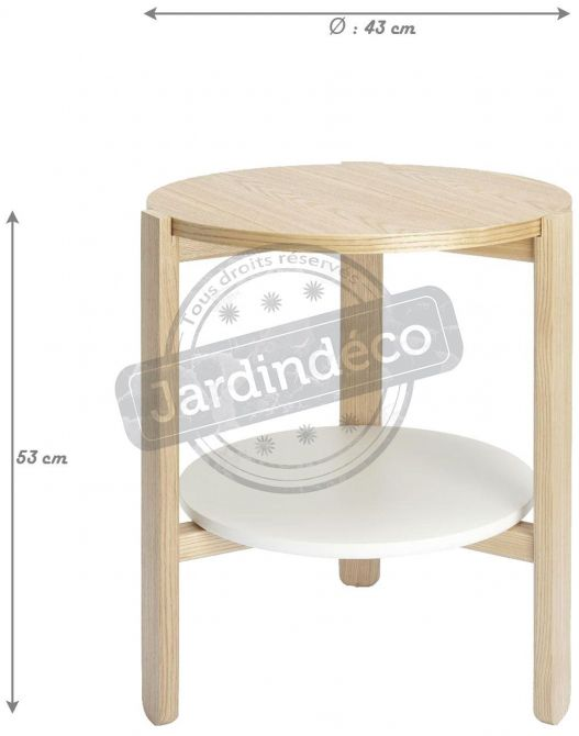Table ronde en bois Hub - UMB-0238