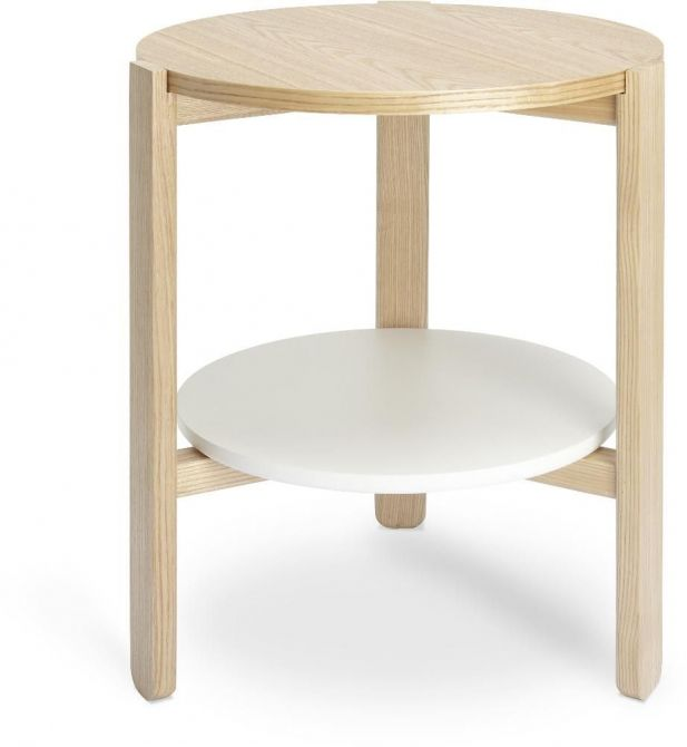 Table ronde en bois Hub