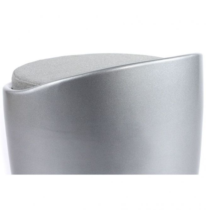 tabouret bas design gris avec rangement. Black Bedroom Furniture Sets. Home Design Ideas