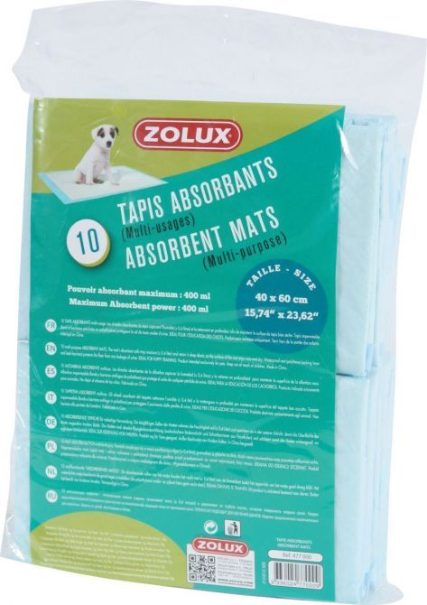 Tapis absorbant pour chiots (Lot de 10) - ZOL-1005