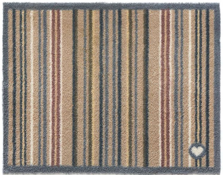 tapis en fibres naturelles rayures 65x150 cm stripe 26. Black Bedroom Furniture Sets. Home Design Ideas
