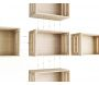 Caisse en pin massif modulable Home box - ASTIGARRAGA
