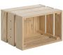 Caisse en pin massif modulable Home box