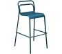 Chaises de bar jardin design aluminium Eos (Lot de 4) - PROLOISIRS