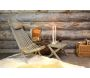 Chilienne scandinave avec repose-pieds - 6