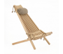 Chilienne scandinave avec repose-pieds - ECOFURN