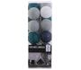 Guirlande lumineuse boules colorées 20 LED 3,72 m - THE HOME DECO LIGHT