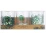 Photophores jungle avec bougies chauffe-plat (Lot de 3) - TOTALLY ADDICT