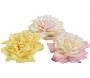 Rose flottante artificielle (lot de 3)