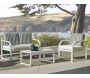 Salon de jardin en aluminium 4 places  Amza