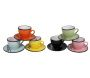 Set 6 tasses et sous tasses Expresso (Lot de 6)