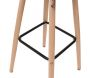 Tabouret de bar scandinave patchwork - 7