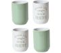 Tasse expresso My Little Market (Lot de 4)
