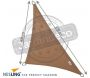 Voile d'ombrage triangulaire Coolfit sable - 5