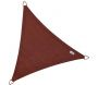 Voile d'ombrage triangulaire Coolfit terracotta