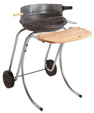 Machine � grillade Douvres en Fonte fait en metal et bois 66x92x97cm
