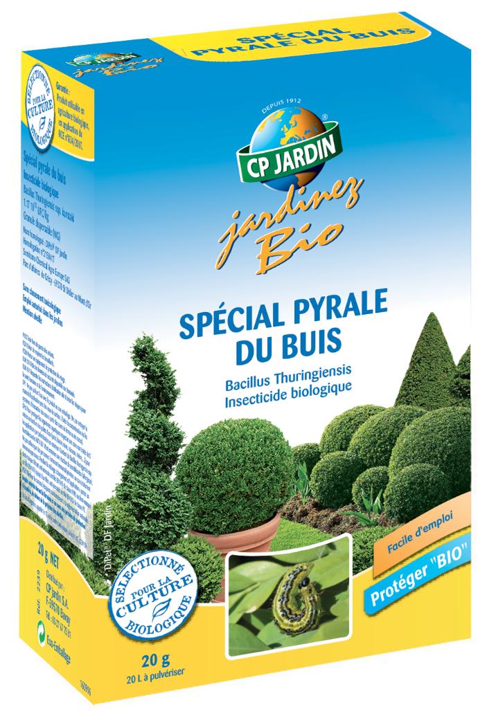Insecticide biologique spécial pyrale du buis
