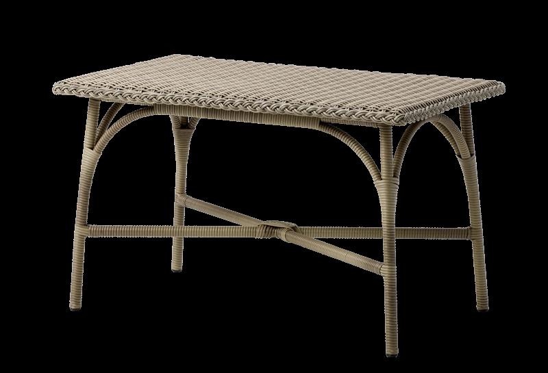 Table basse rectangulaire de jardin Victoria 60x100cm
