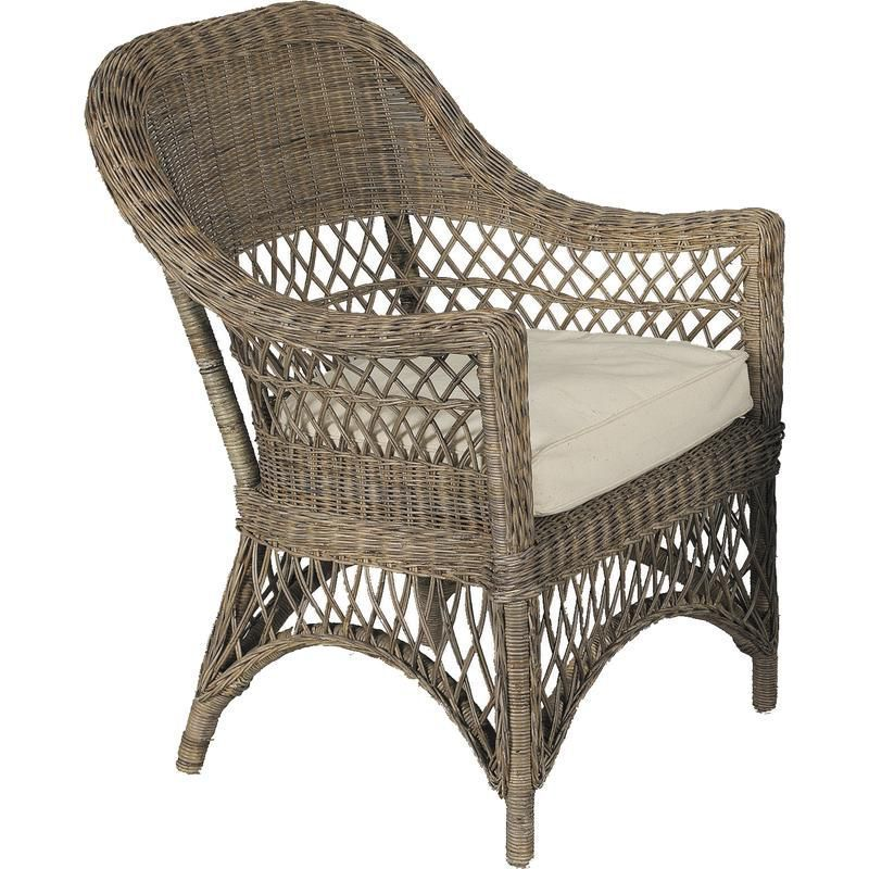 Gris coussin - Coussin pour fauteuil exterieur ...